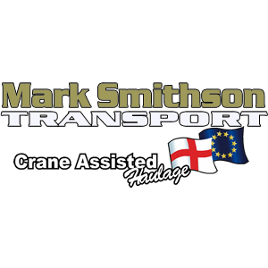 logo At Mark Smithson Transport, Road, Heavy, Crane, Hiab, assisted,  General, Freight, International, European, Domestic, commercial, freight, Portacabin,  haulage in Yorkshire. Machinery, removals, relocations, Wide, long, Abnormal load, deliveries. Stepframe, Extendable Low loader trailers. Escort vehicle services. Movement order, ADR specialist. Domestic, commercial, freight, Registered Waste Carriers. Storage, Long Term, Short Term, Shipping, container, Transformer, generator, removals, Vehicle Courier services.